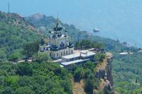 Форосская церковь на скале над Форосом. Фото Морошкина В.В.