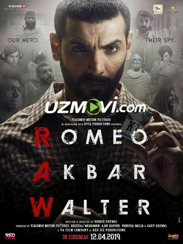Romeo Akbar Uolter Premyera uzbek tilida hind jangari kino