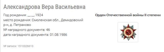 Александрова Вера Васильевна 27277158_m