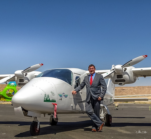 Rabigh Wings Takes Acceptance of Second Tecnam P2006T ME