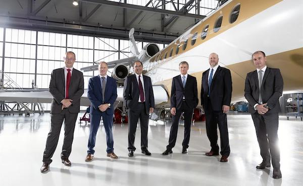 Leading Business Jet Industry in Product Support -Dassault Aviation  The