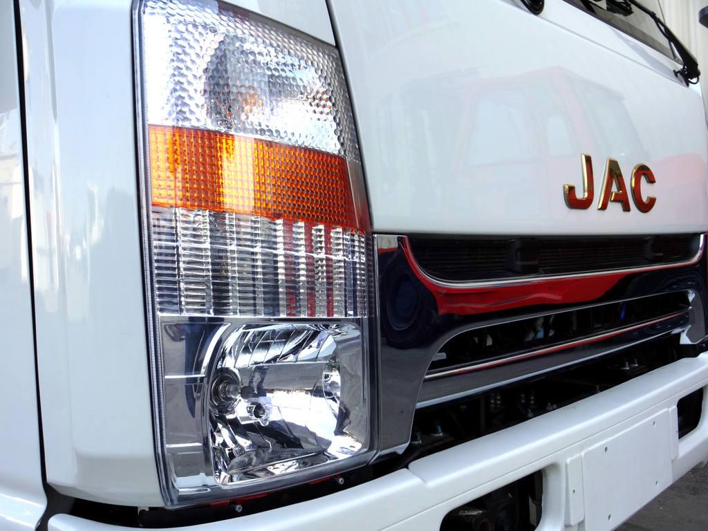 Оптика и решётка радиатора JAC N80