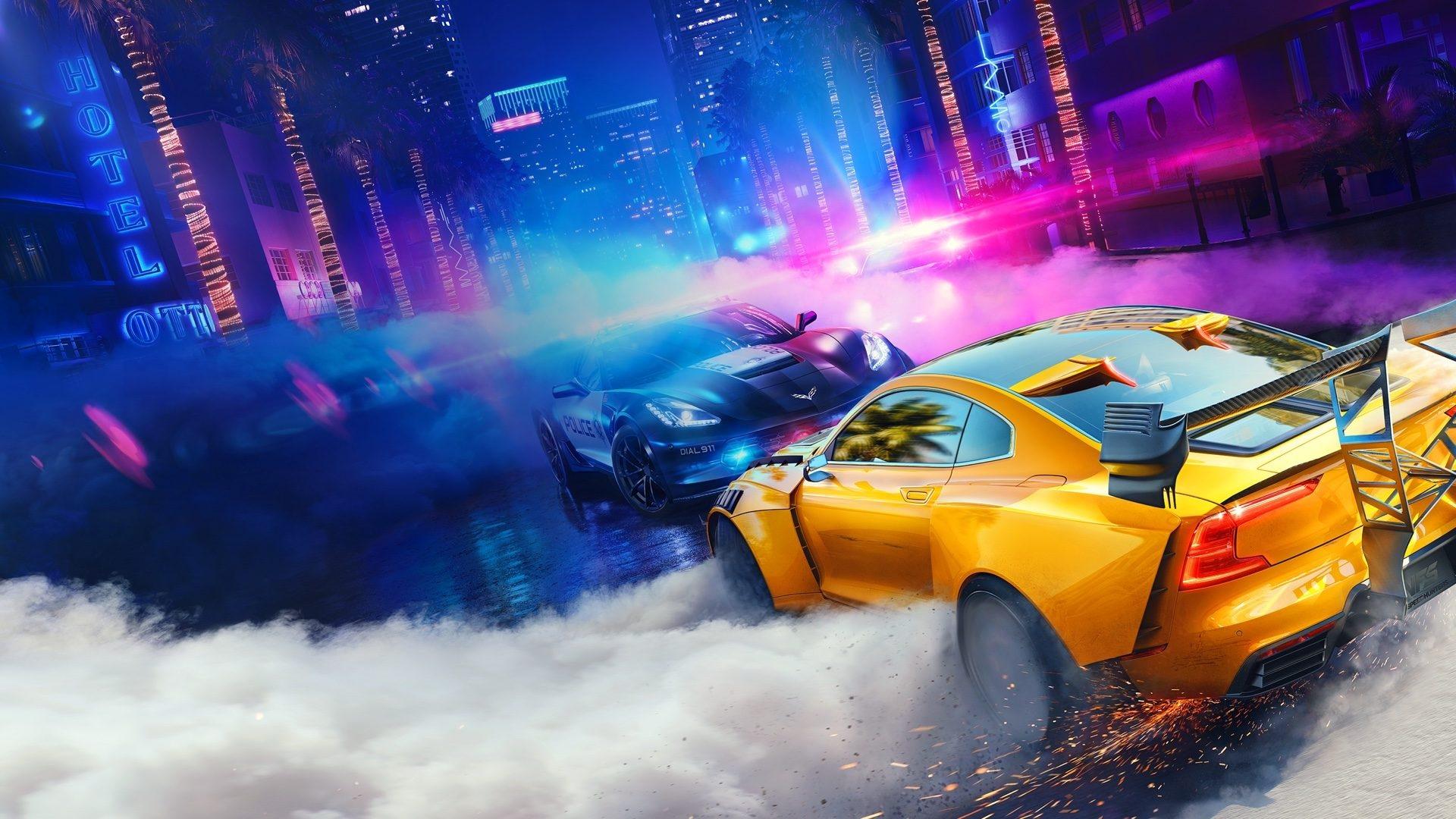 Первый игровой скриншот Need For Speed Heat с полицейской погоней утек в сеть