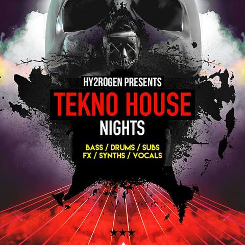 Hy2rogen - Tekno House Nights (AIFF, EXS24, HALION, KONTAKT, NNXT, REX2, WAV)