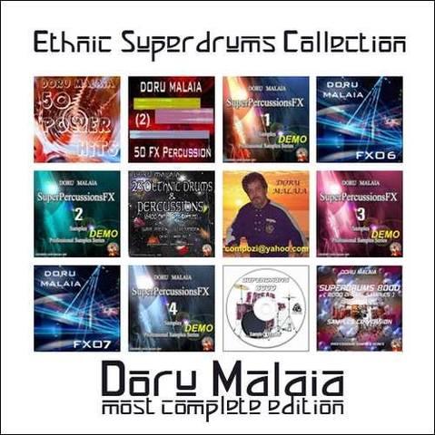 Doru Malaia - Ethnic super Drum collection (KONTAKT)