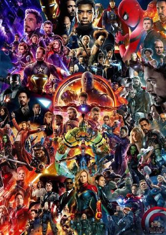 Marvel kino olamiga kiruvchi barcha Filmlar to'plami