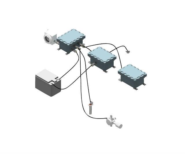 Система аэрогазового контроля метана ААГК-GDS-M-2018-06, производство