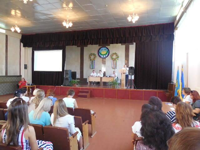 27 серпня делегація вчителів школи взяла участь в учительській щорічній конференції.