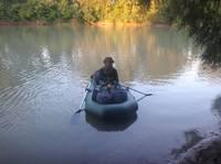 14.08.19. На реке, с лодкой