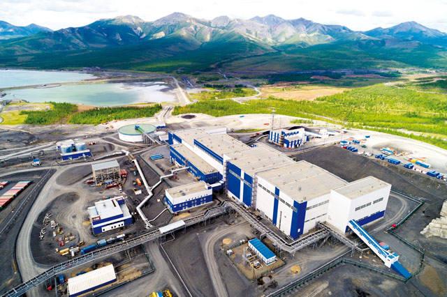 Золотодобывающая фабрика АО «Полюс Магадан»