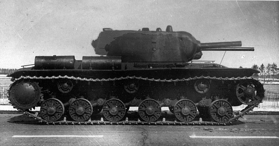 Наши танки №22 - КВ-1С