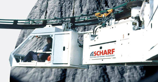 Scharf монорельс