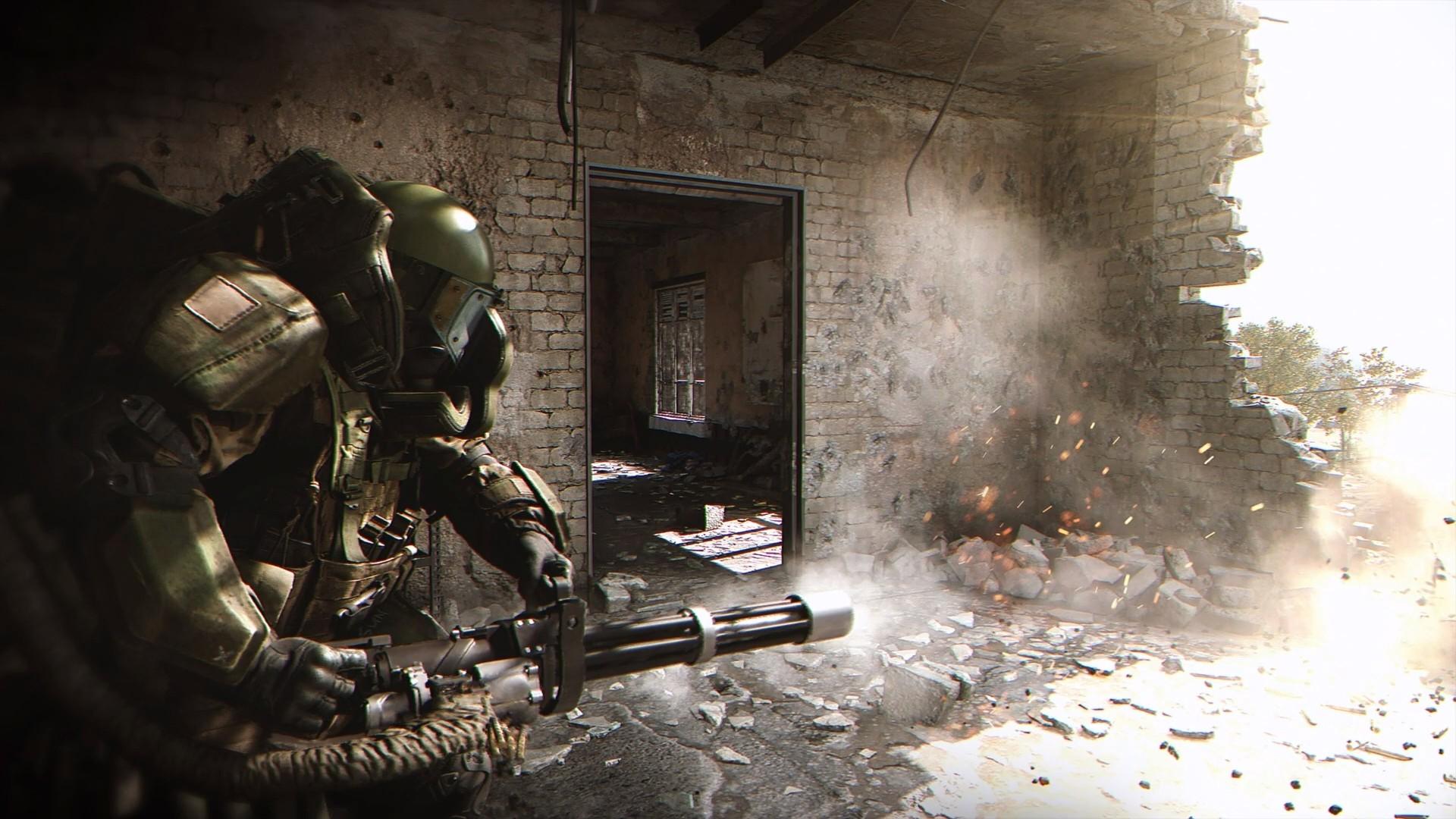 Появился живой геймплей Call of Duty: Modern Warfare с трассировкой лучей