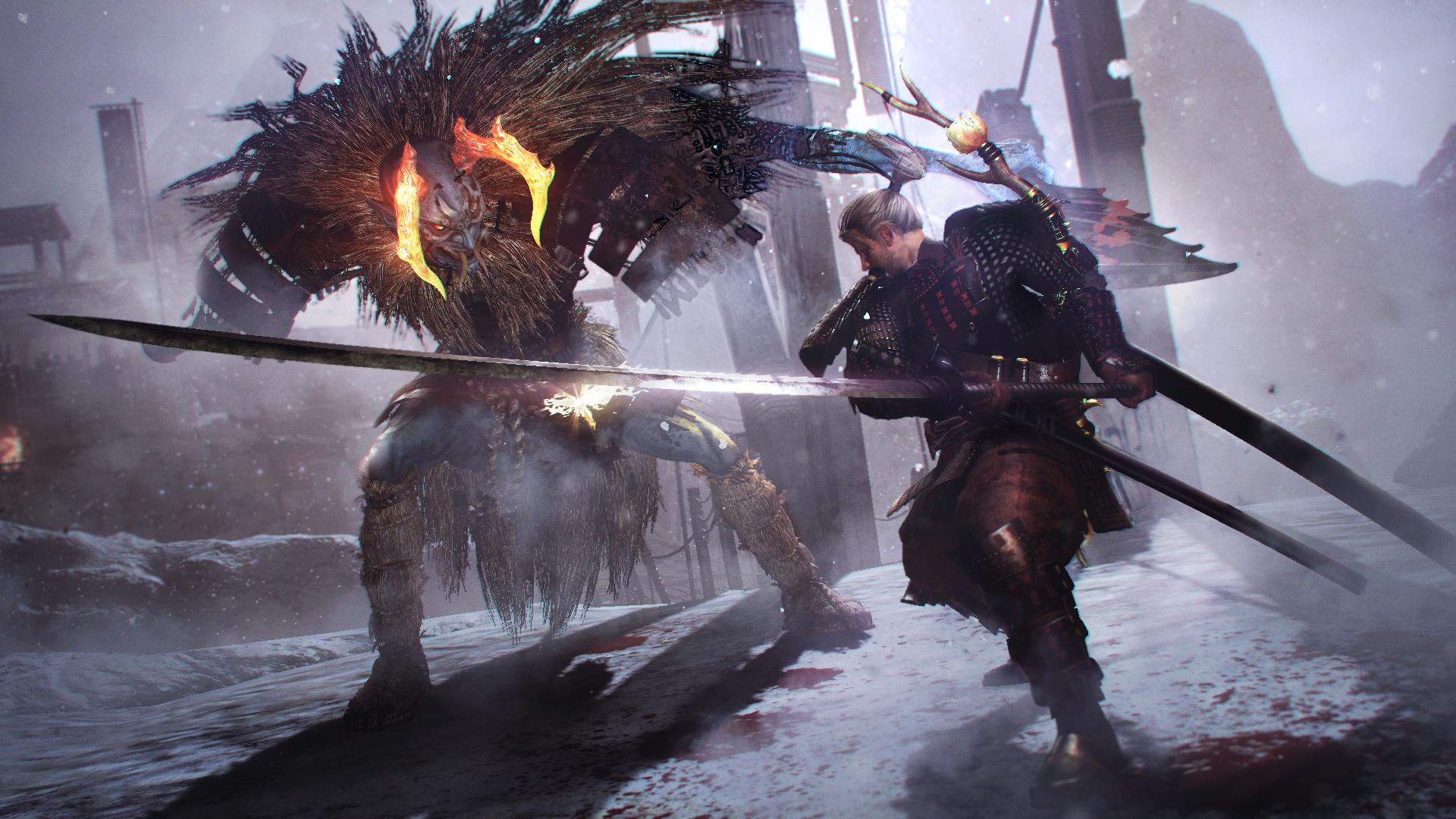 Демоническая лошадь и очень много боев — 11 минут геймплея Nioh 2