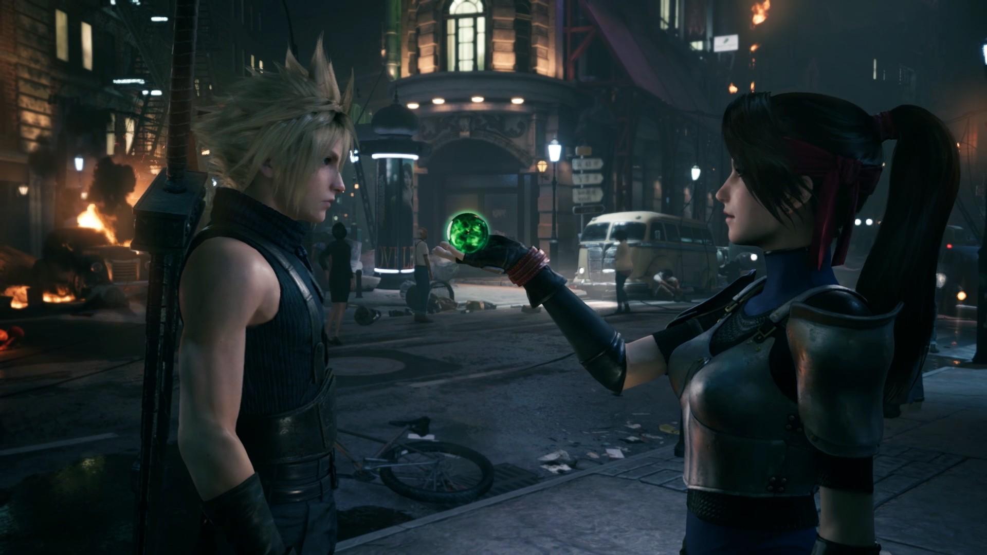 Авторы ремейка Final Fantasy VII показали новый гемплей с боями и мини-игрой
