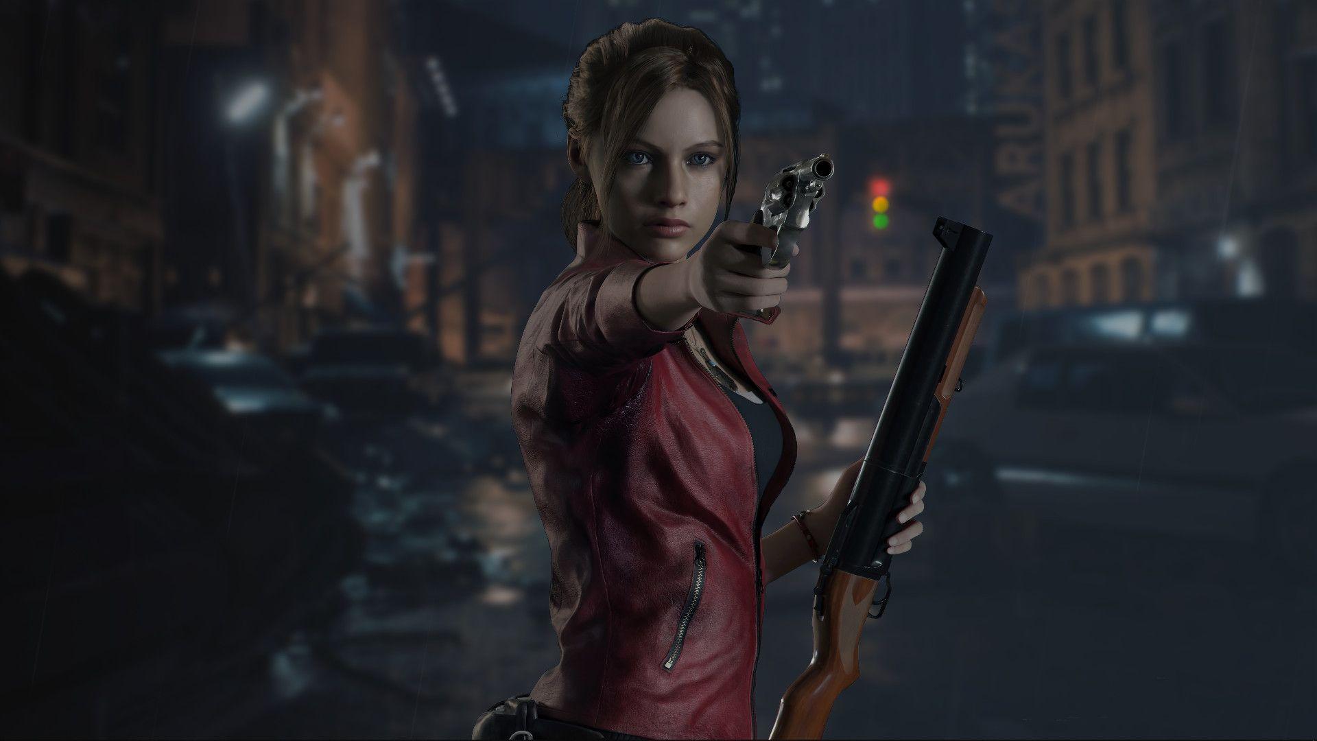 Благодаря моддеру - Клэр из Resident Evil 2 стала еще сексуальнее