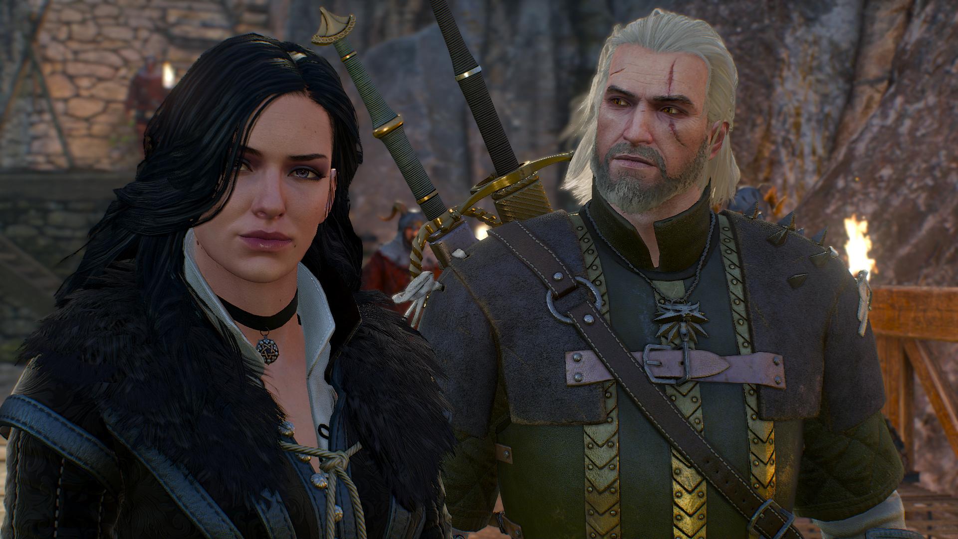 Россиянин показал, как бы выглядели Геральт и Йеннифэр из Witcher 3, если бы жили в 80-х
