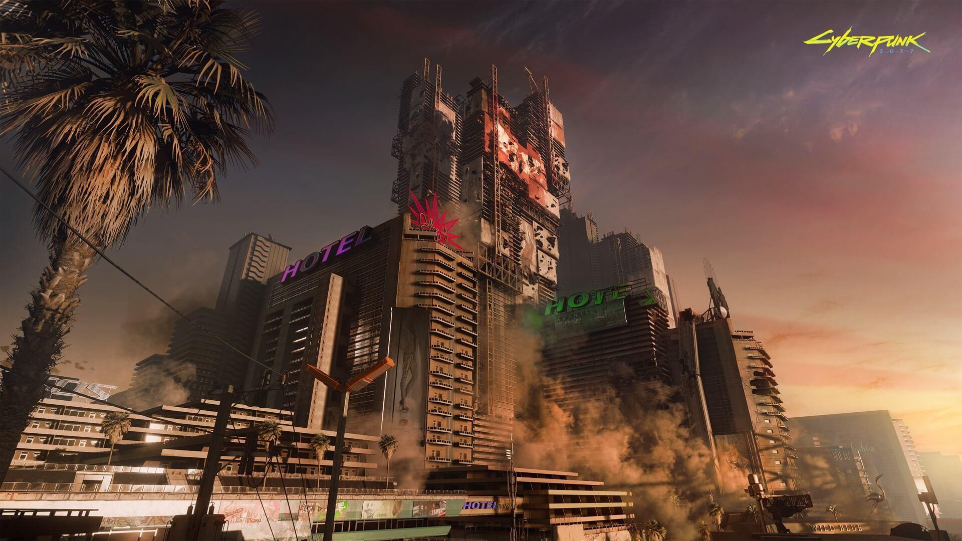 Дизайн города в Cyberpunk 2077 делает мир будущего правдоподобнее