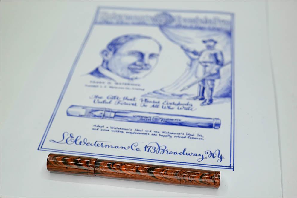 Waterman #42 Safety pen. Lenskiy.org