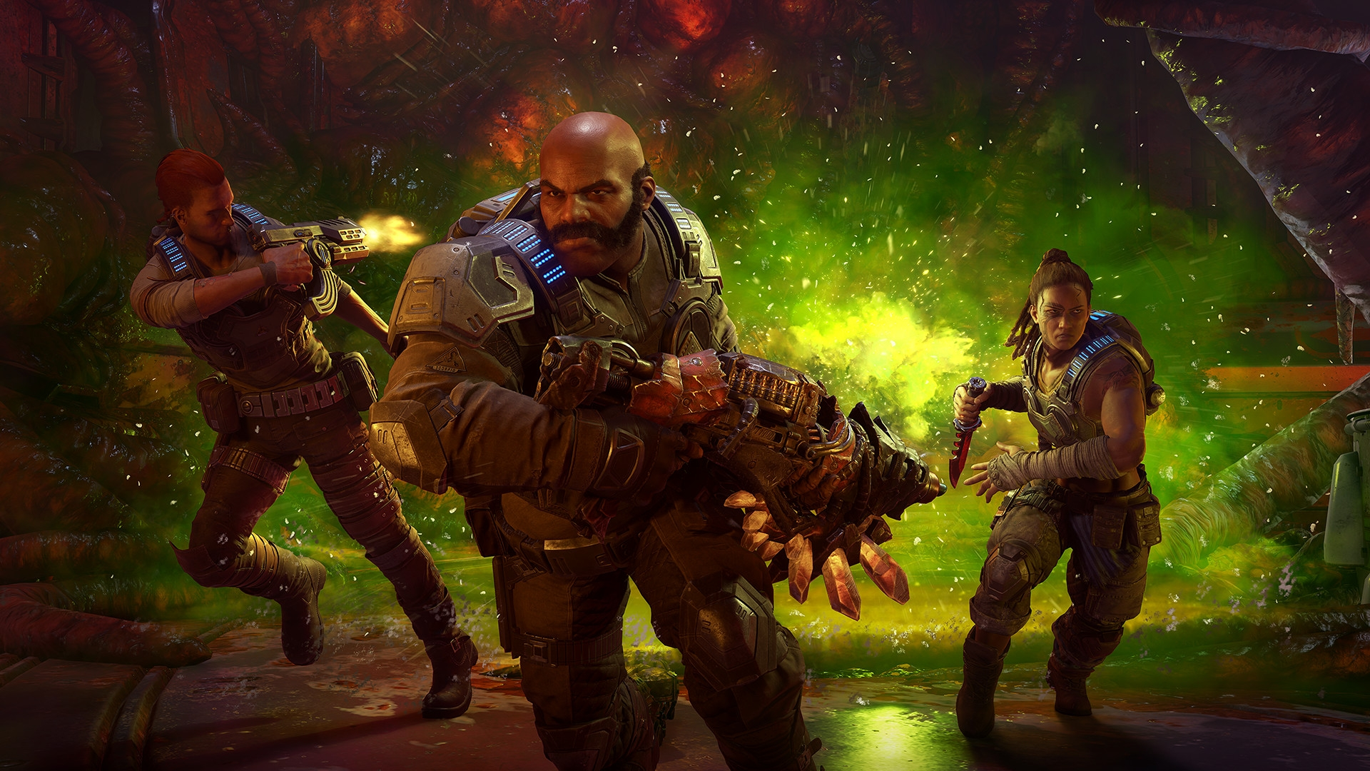 Гайд: Где найти все реликтовое оружие в Gears 5
