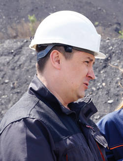 Василий Альбощий,  заместитель директора филиала «Краснобродский угольный разрез» по персоналу и общим вопросам