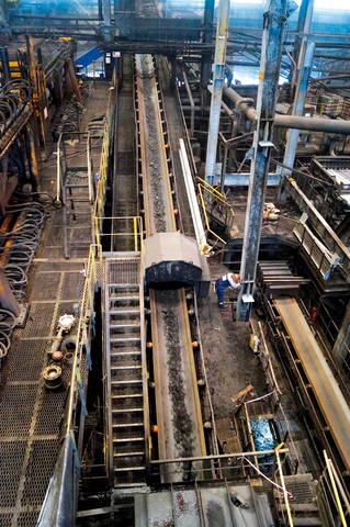 конвейер, фабрика «Распадская»