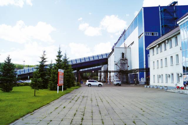 фабрика «Распадская»