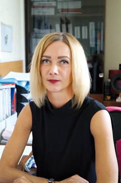 Валентина Тарасенко,   главный маркшейдер разреза «Распадский»