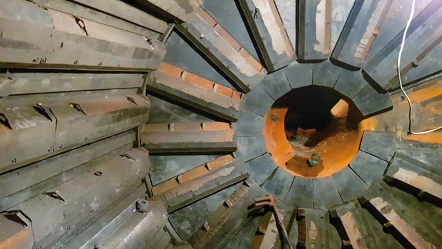 Футеровка мельницы