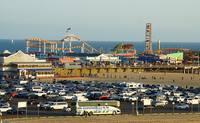 Пирс в Санта-Монике - р-не Лос-Анджелеса. Фото Морошкина В.В.