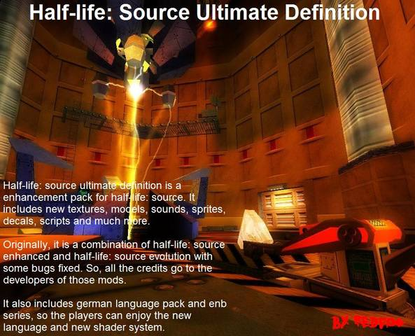 Half-life: Source - Ultimate Definition мод