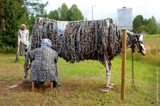 woman-milking-a-wooden-cow1