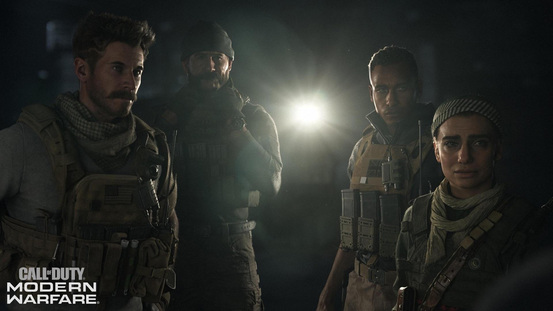Появились детали кооператива в COD: Modern Warfare