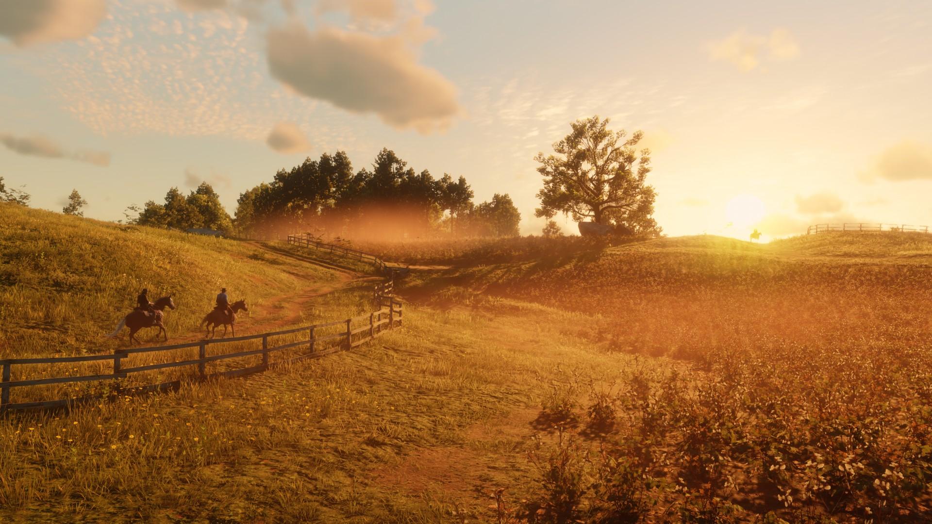 Первые скриншоты PC-версии Red Dead Redemption 2