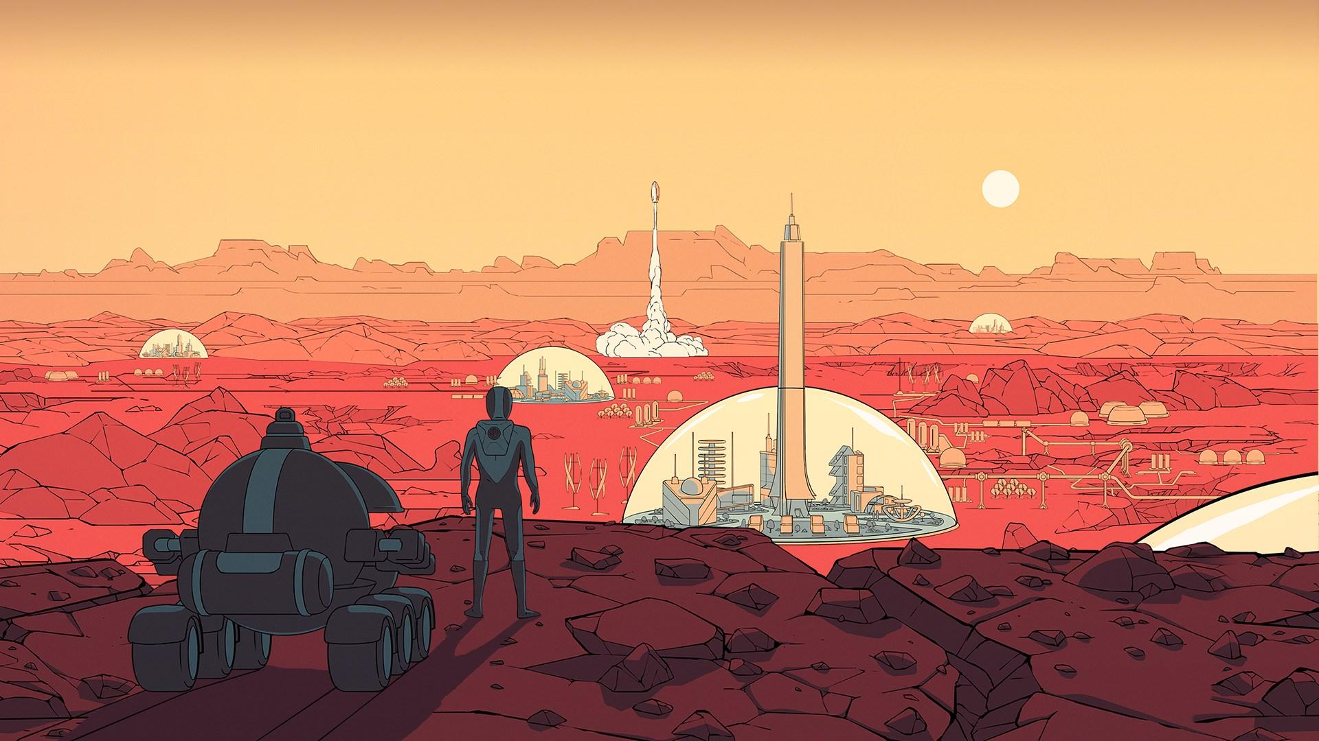 Халява: на PC бесплатно раздают фантастическую игру про Марс — Surviving Mars