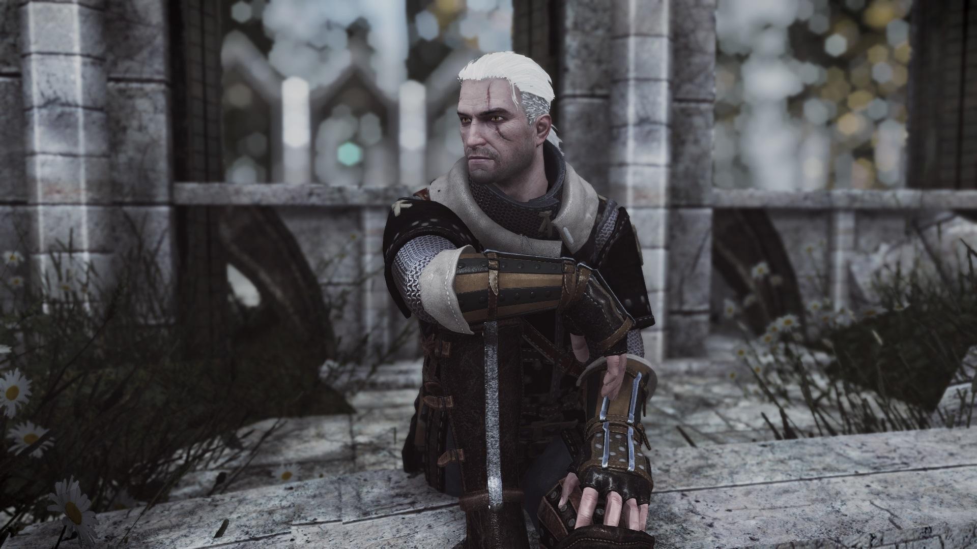 В Skyrim добавили ведьмачьи доспехи из The Witcher 3