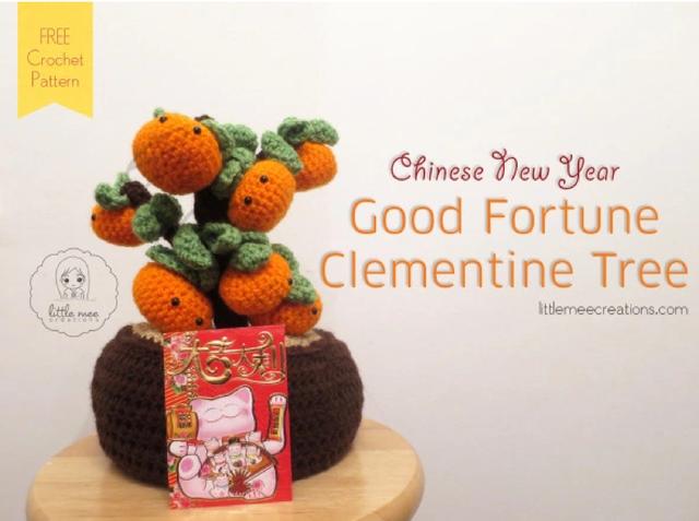 Новогоднее мандариновое дерево от  Doris Yu 10.11.19 28213419_m
