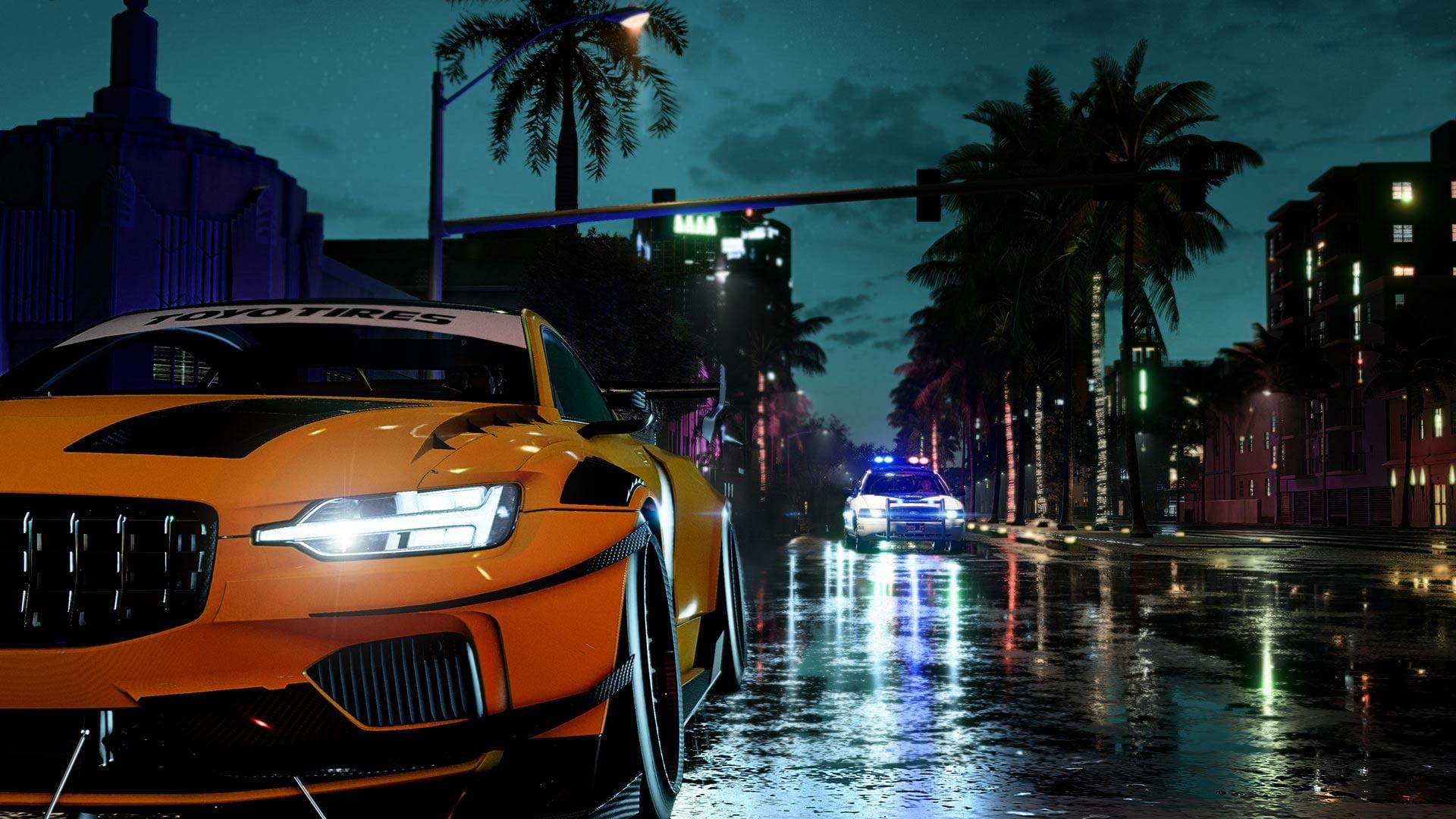 Все машины Need for Speed Heat показали в одном видео