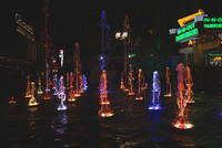 Фонтаны с подсветкой в Лас-Вегасе. Фото Морошкина В.В.