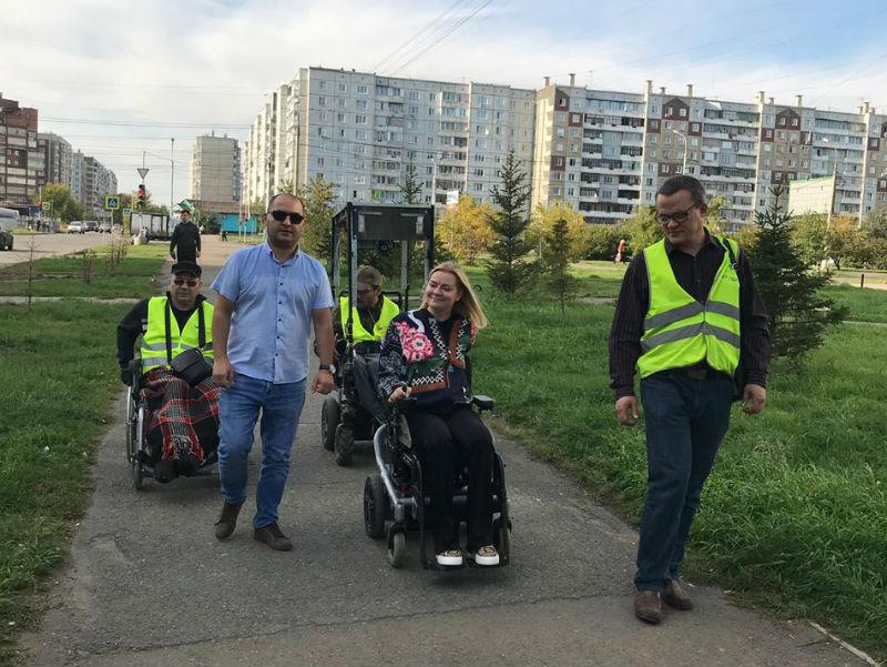 Рейд общественников по улицам Красноярска