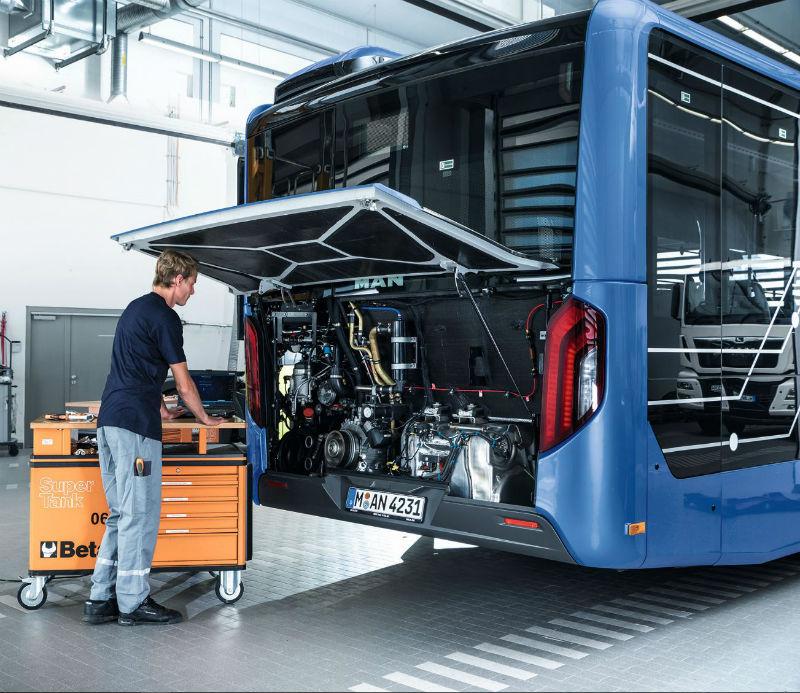 Сервисное обслуживание автобусов MAN