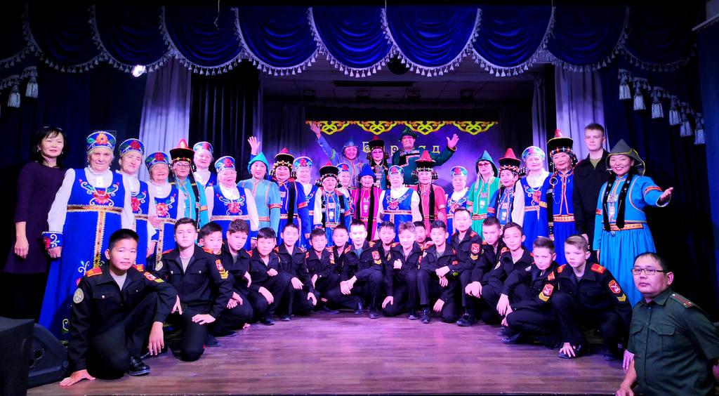 22 октября прошел концерт «Буряад дуунууд», в рамках месячника Бурятского языка-2019