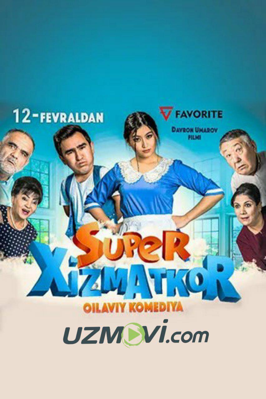 Super Xizmatkor Yangi Uzbek kino 2019 premyera
