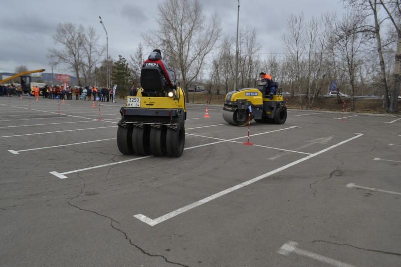День дорожника в Красноярске