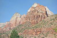 Горы разноцветного песчаника в парке Зайон, шт. Юта. Фото Морошкина В.В.
