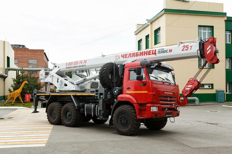 Автокран грузоподъёмностью 25 тонн