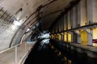 Тоннель подземного завода по ремонту подводных лодок, теперь являющемуся музеем. Фото Морошкина В.В.