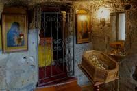 В подземной церкви Свято-Климентовского монастыря в Инкермане. Фото Морошкина В.В.