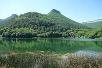 Озеро по дороге из Севастополя в Бахчисарай. Фото Морошкина В.В.