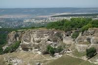 Вид на Бахчисарай из Чуфут-Кале. Фото Морошкина В.В.